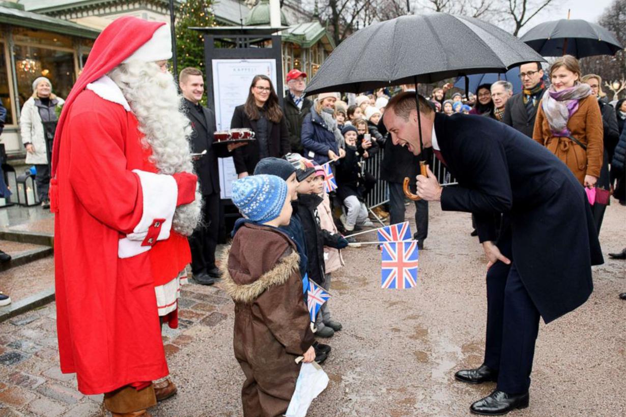 Prince William Christmas Present