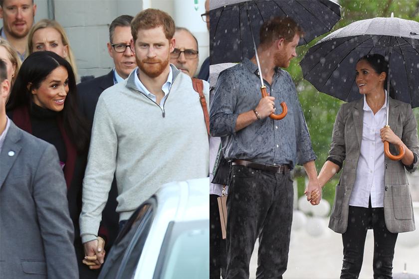 Prince Harry and Meghan Markle Broke Royal Protocol on Their Tour