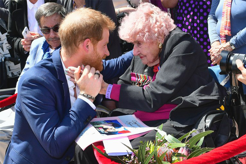 Prince Harry, the Mark Mark Broke Royal Protocol on the Tour