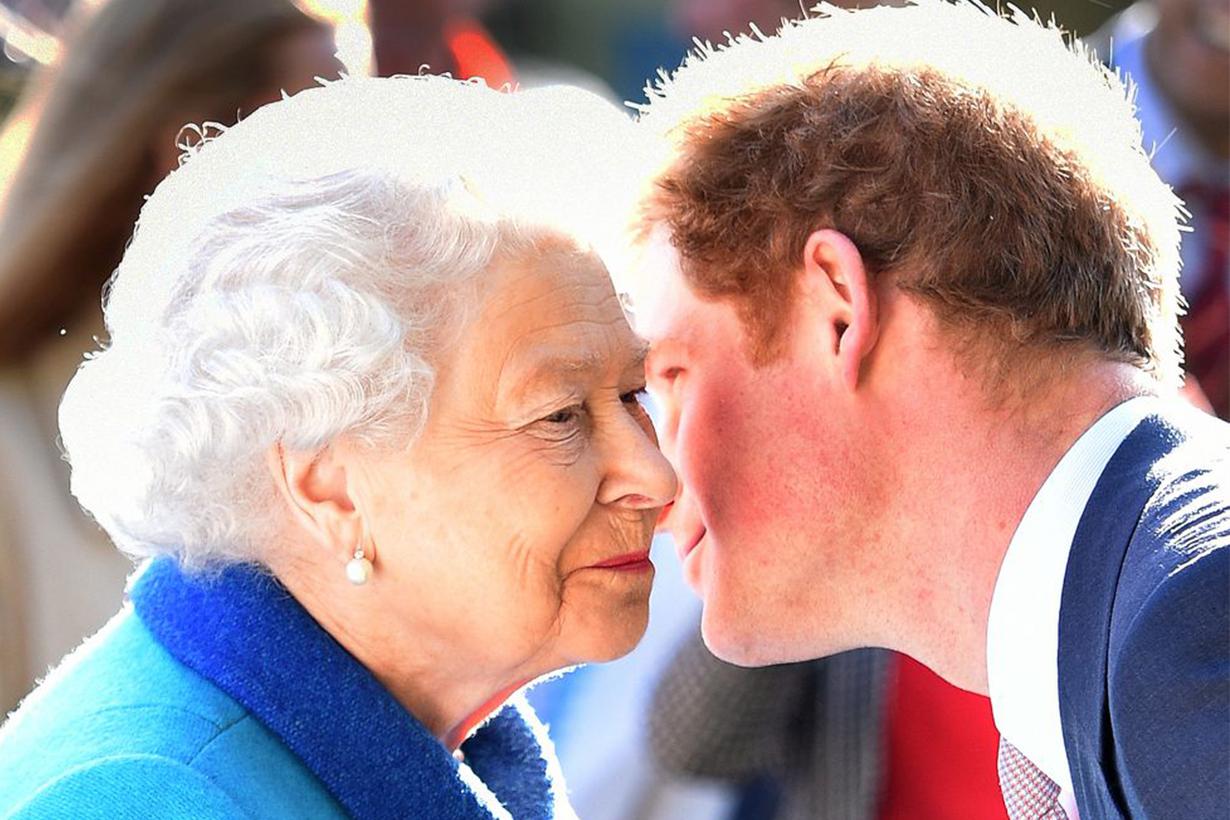 Prince Harry Queen Elizabeth II