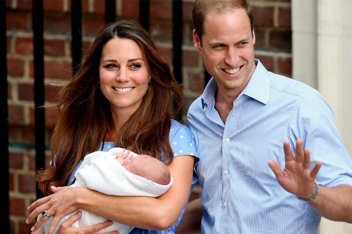 Kate Middleton Blue Polka Dots Dress