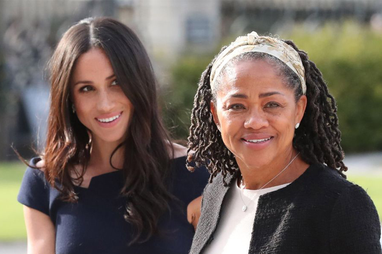 Meghan Markle and Mother