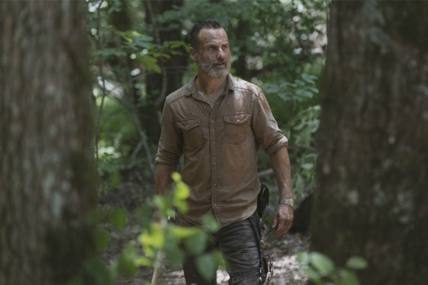 The walking dead rick grimes movie Andrew Lincoln