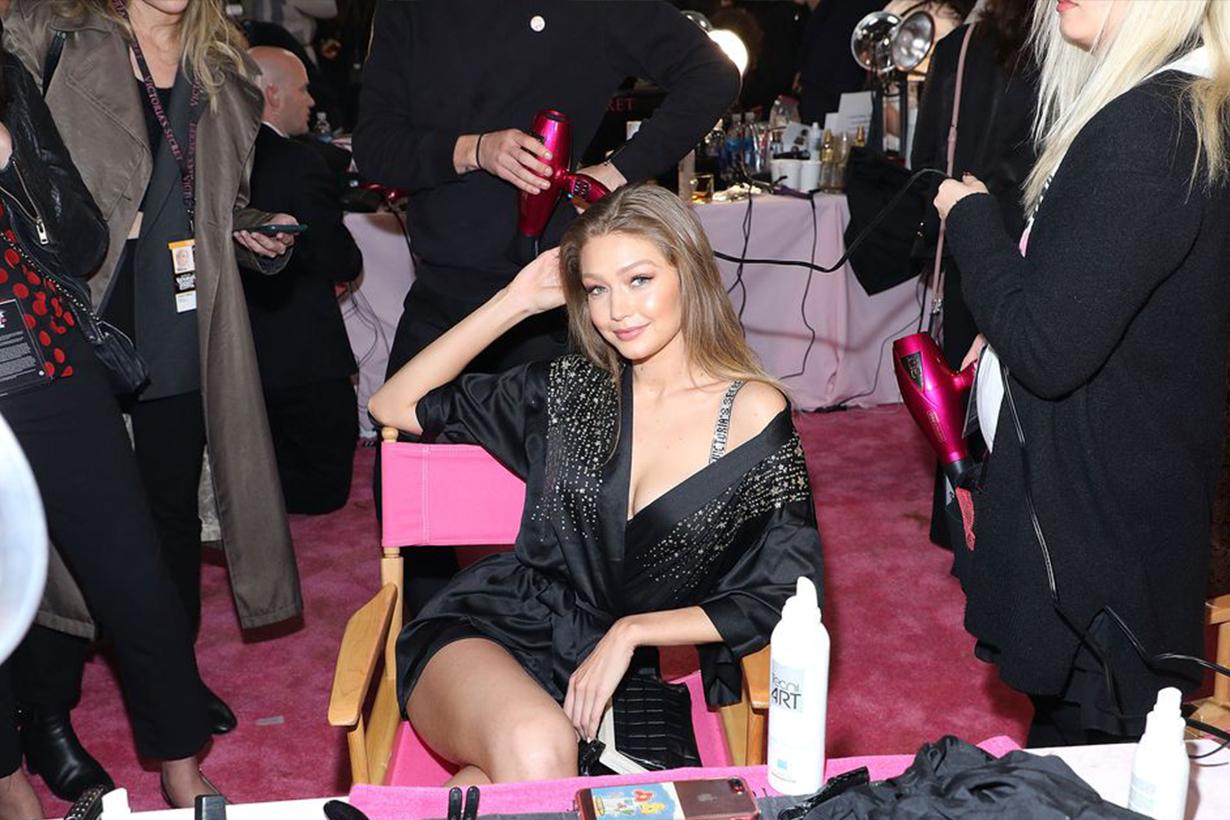 Victoria's Secret Fashion Show 2018 Backstage Models Gigi Hadid