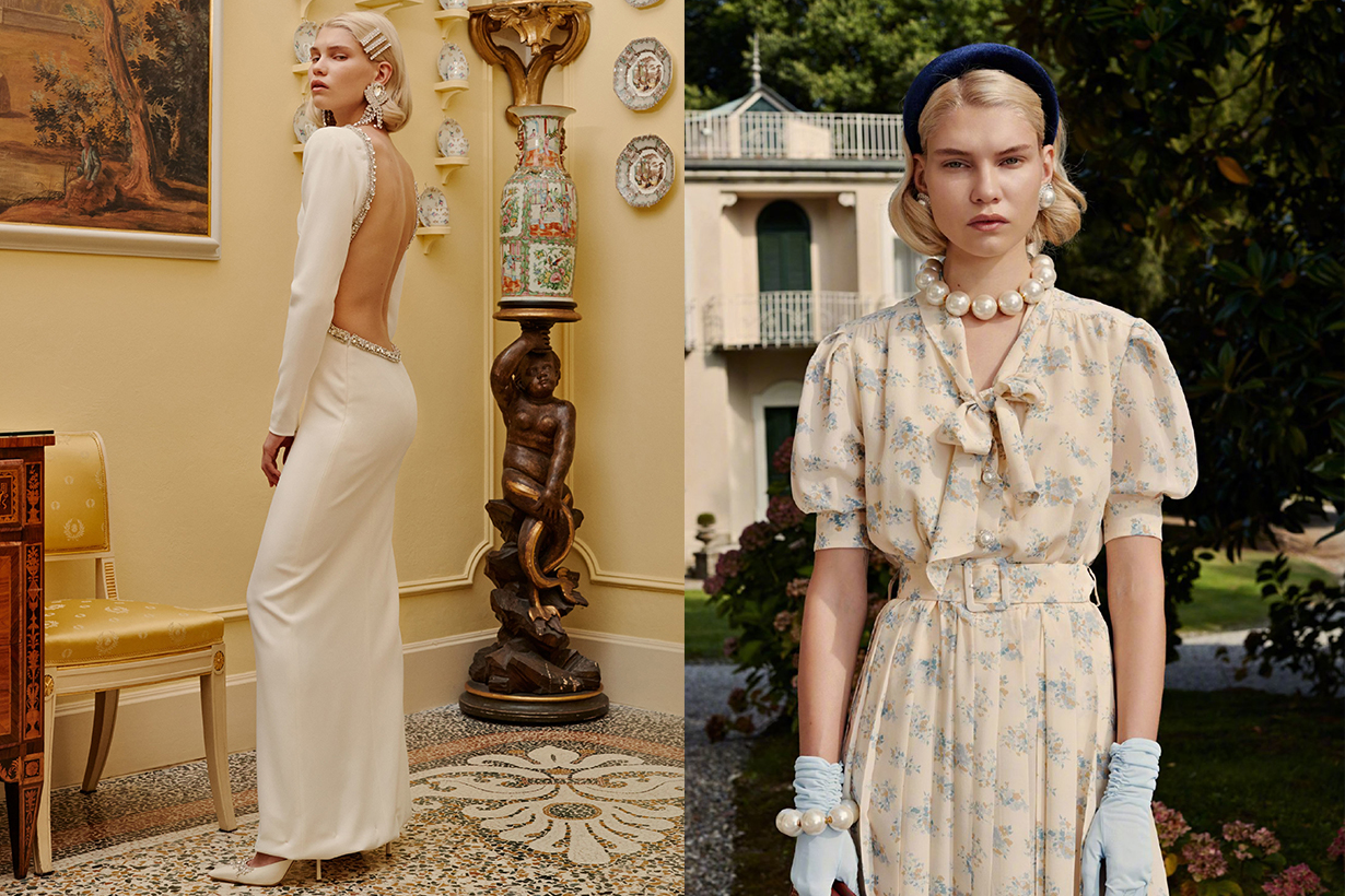 Alessandra Rich spring 2019 look book