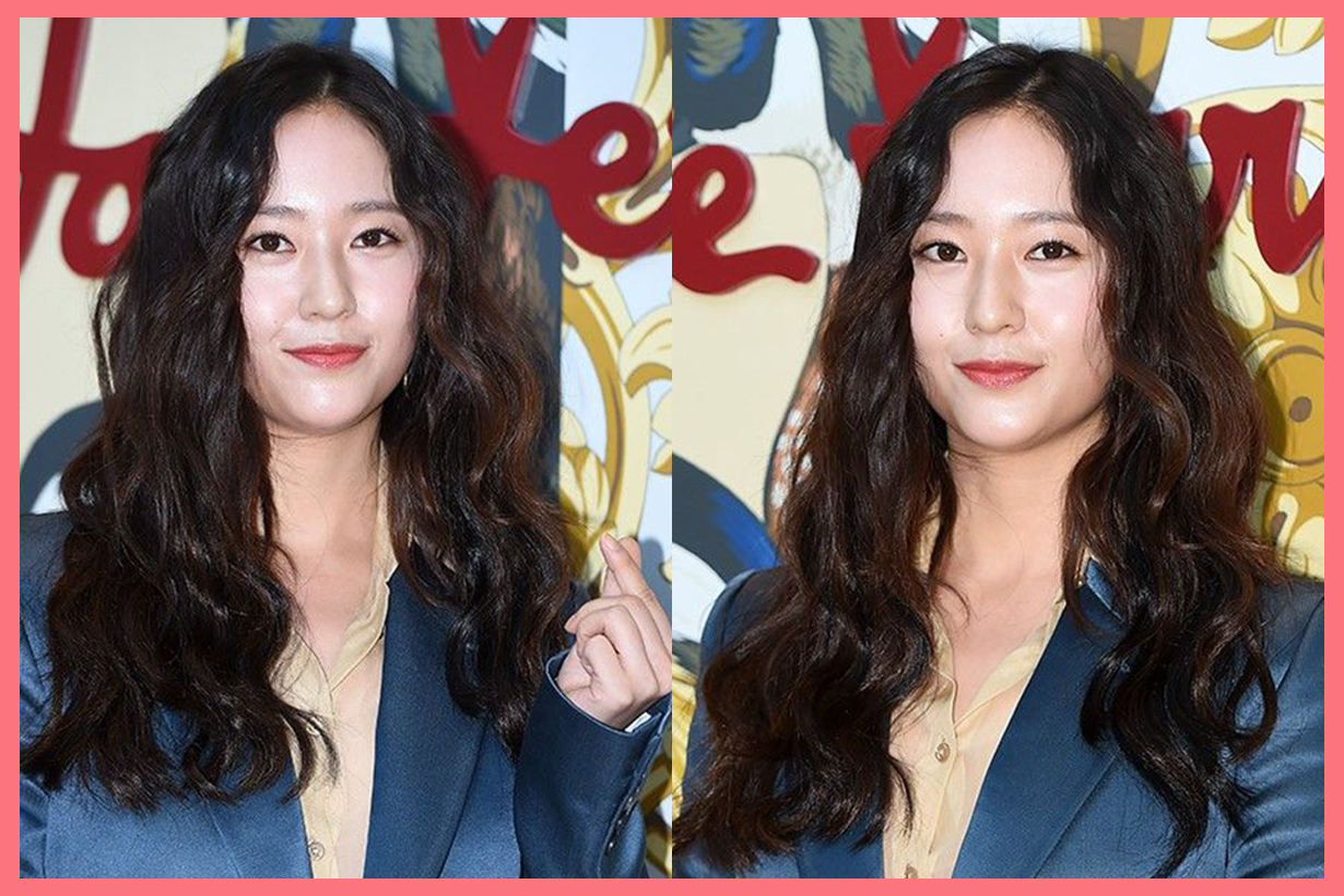 Krystal Jung Soo Jung double chin turtle neck k pop korean celebrities korean actress