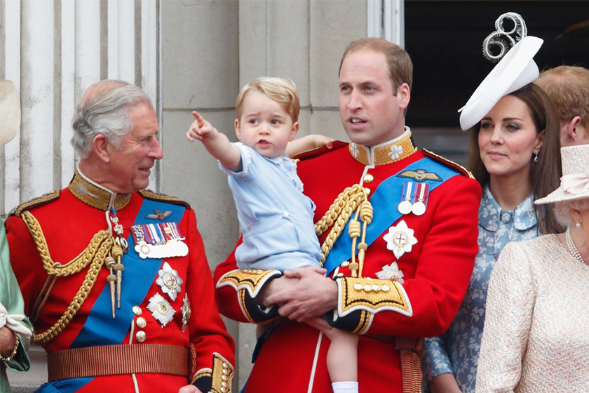 prince charles prince george gift rare comment