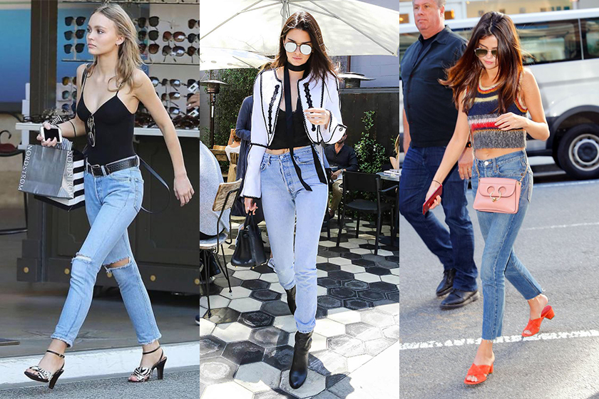 re/done jeans Lily-Rose Depp Kendall Jenner Selena Gomez