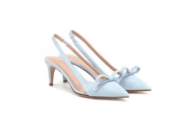 2019 spring Shoes Inspiration PVC Bow Colorblock