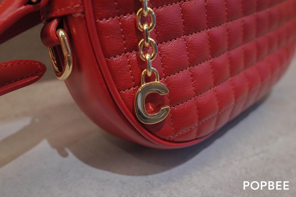 celine by hedi slimane unboxing handbag 16 bag c charm