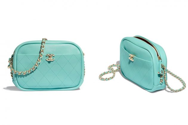 Chanel Tiffany Blue Camera Bag is the best christmas gift