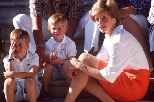 Prince William teaching George and Charlotte they have two grandmothers