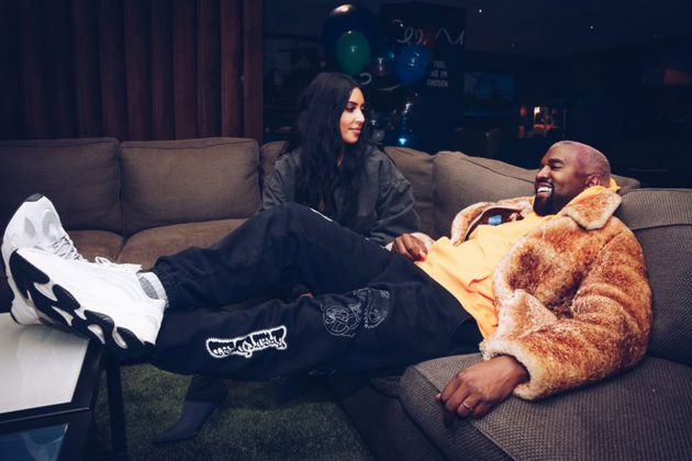 Kanye West Bought Kim Kardashian A £11 Million Christmas Present