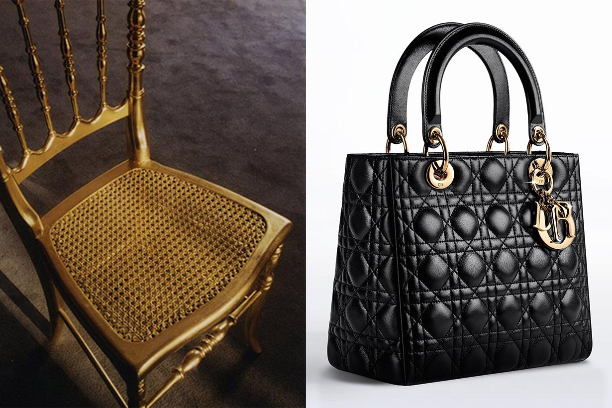 Lady Dior Bag Cannage Chair
