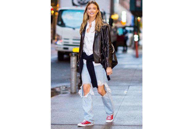 Converse celebrities street style