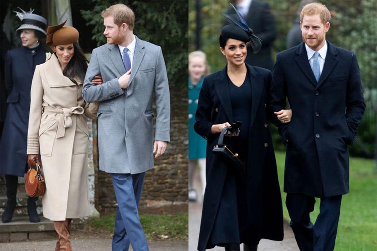 Meghan Markle Prince Harry Christmas 2017 2018