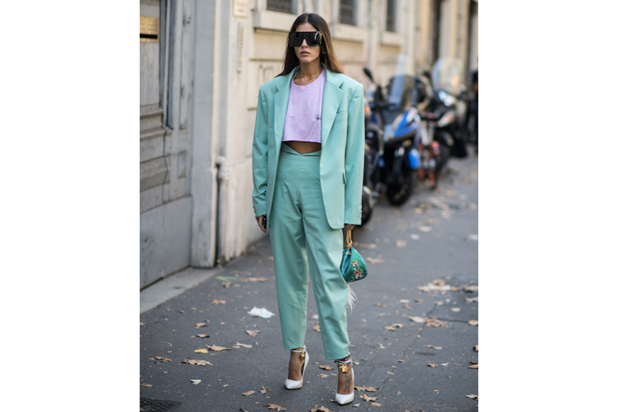 1980S Fashion Trend Street Style Suit
