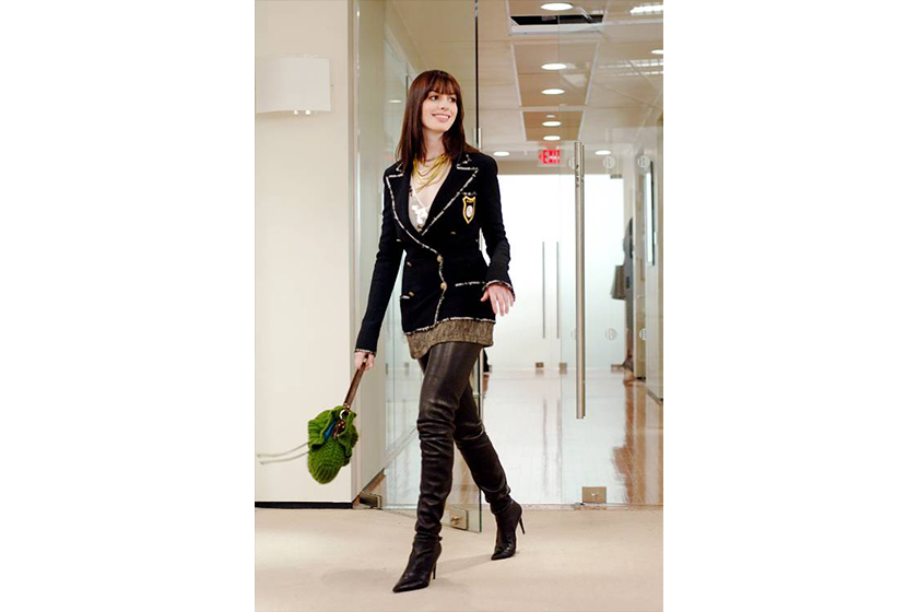 Winter Style from The Devil Wears Prada Anna Hathaway Boots