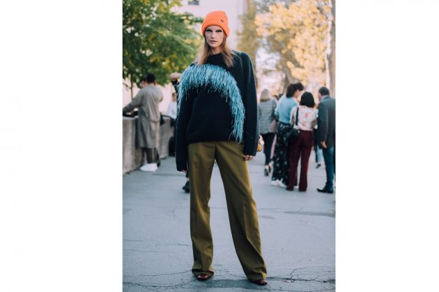 WInter hat street style 2018