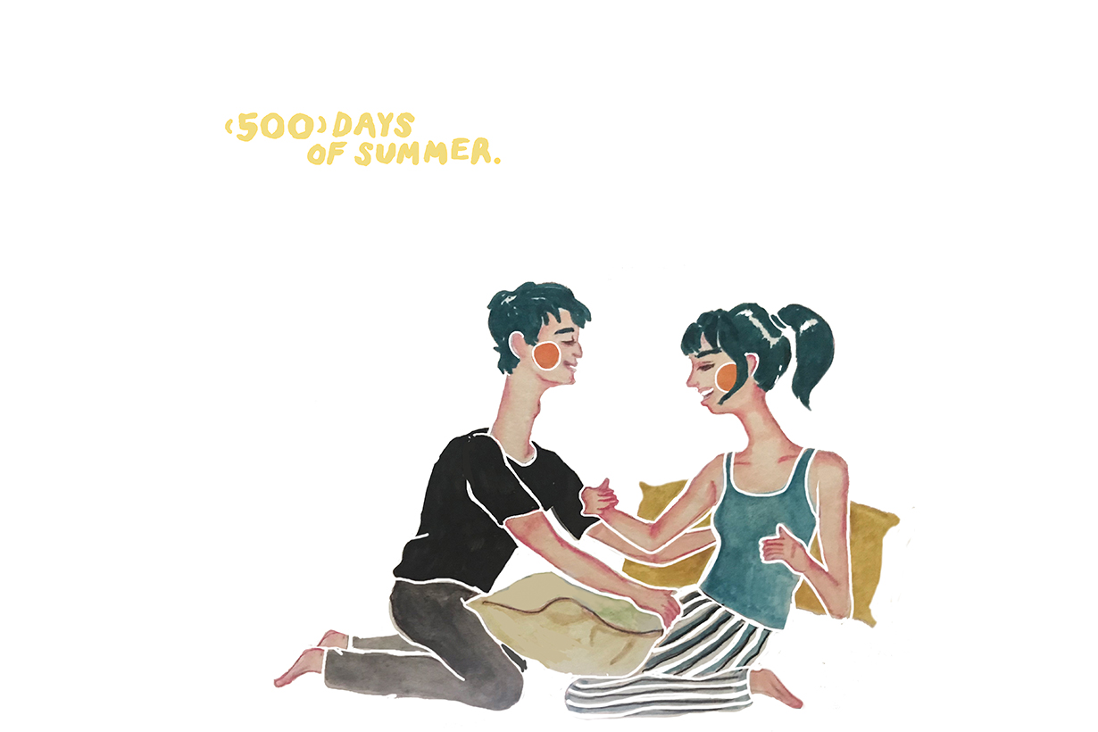 longneck illustrator ruby lam interview 500 days of summer