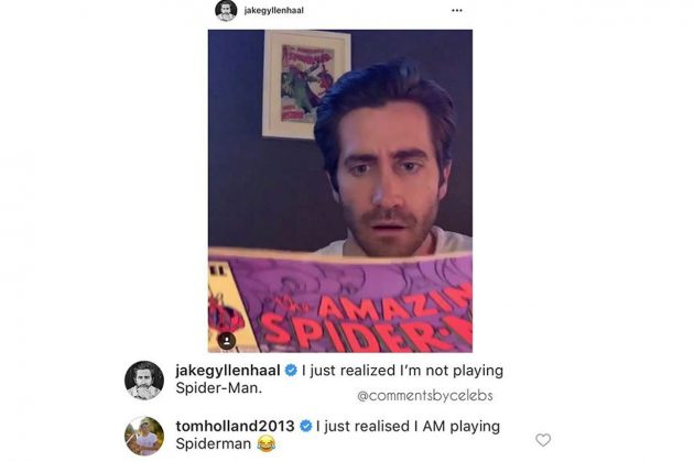 Tom Holland Jake Gyllenhaal Spider-Man fun video