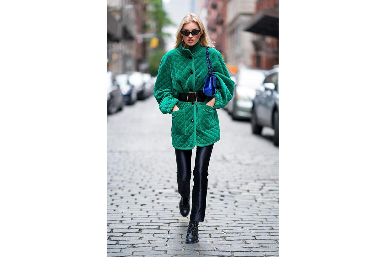 Elsa Hosk Winter Street Style
