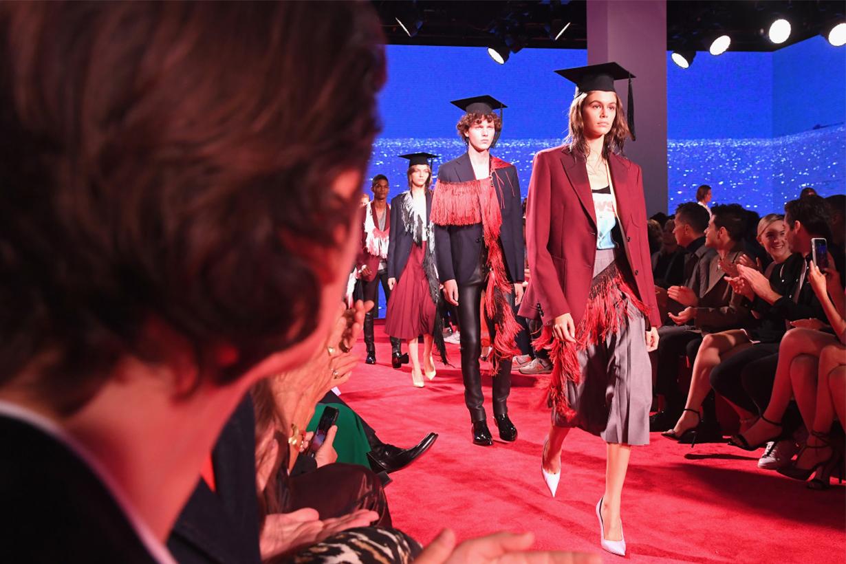 Calvin Klein during New York Fashion Week