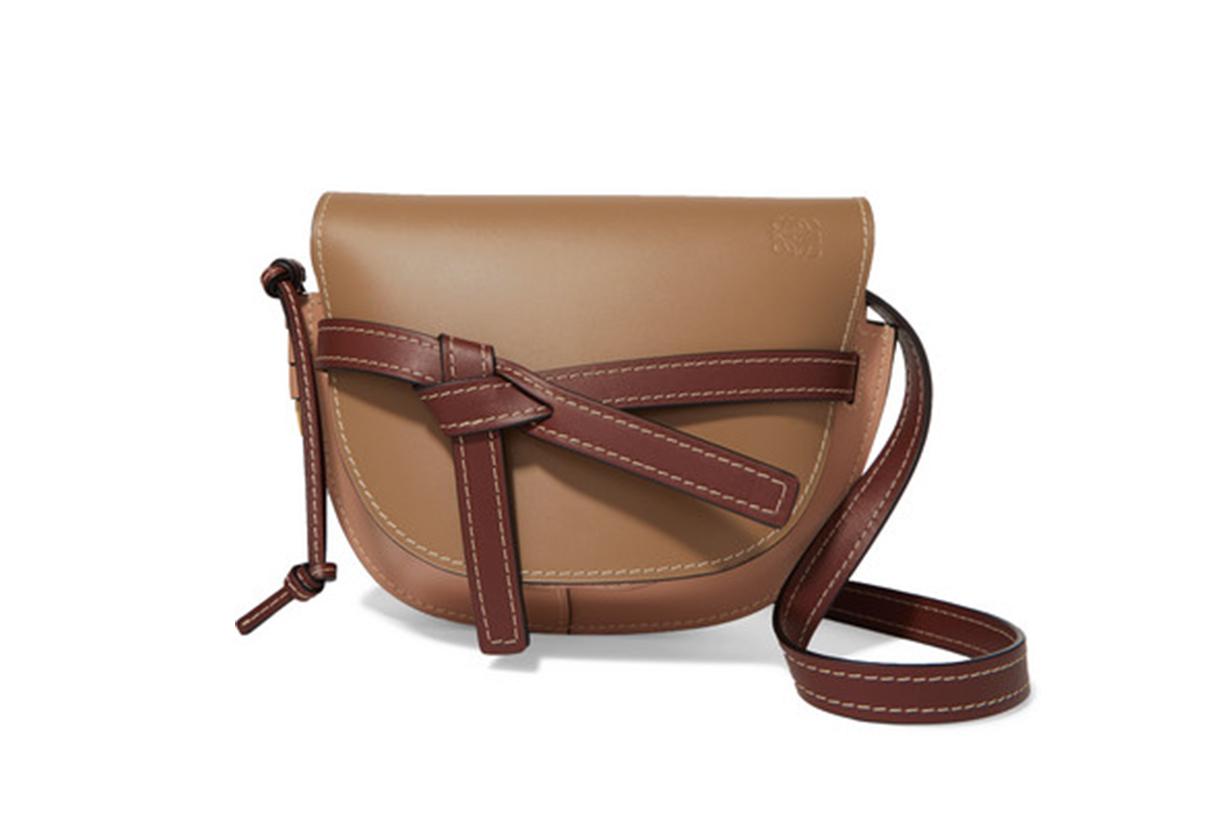 Loewe Gate small leather shoulder bag