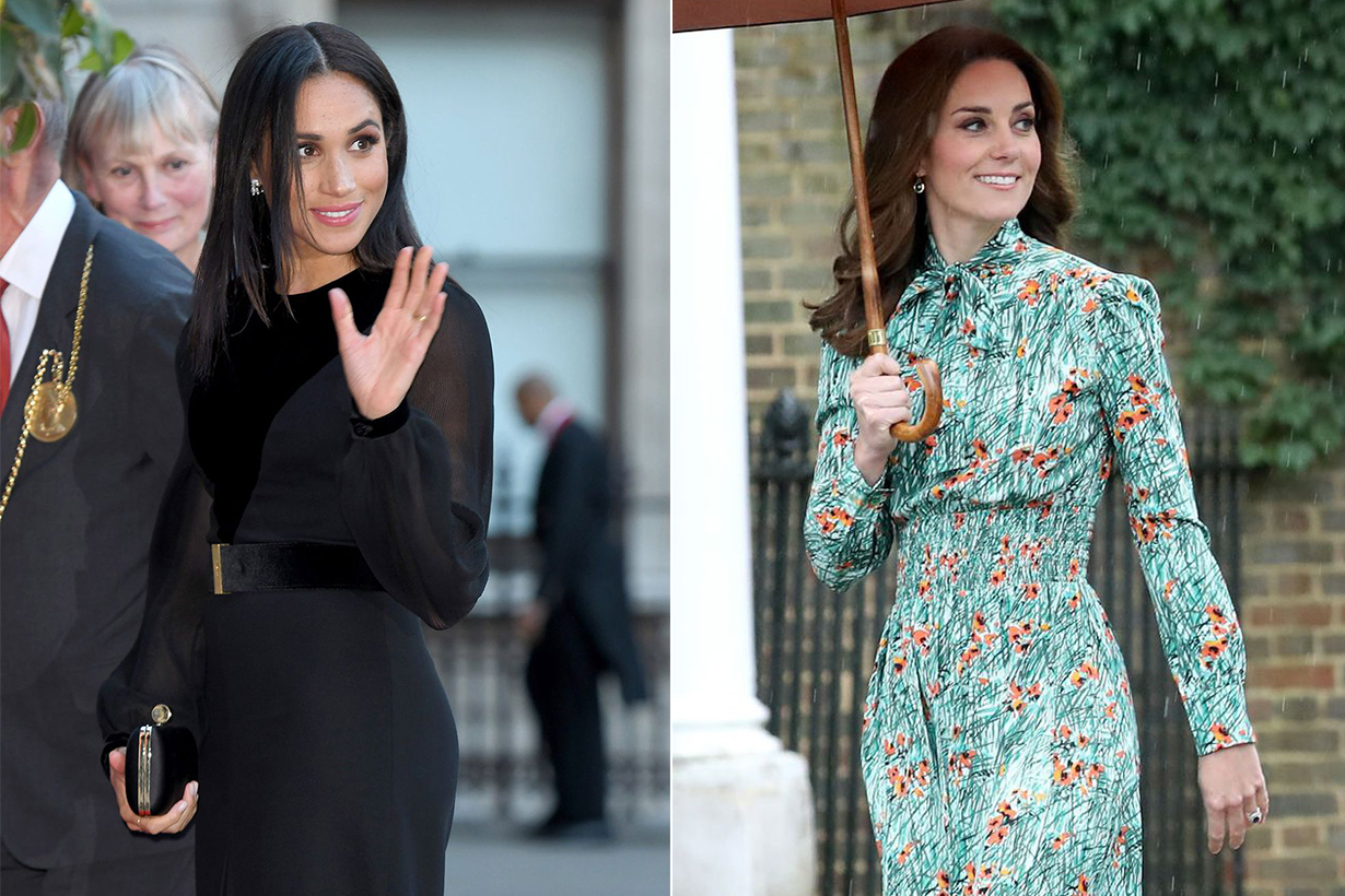 Meghan Markle Kate Middleton Style