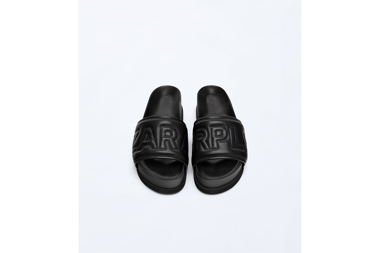 Zara Logo Sandals 05