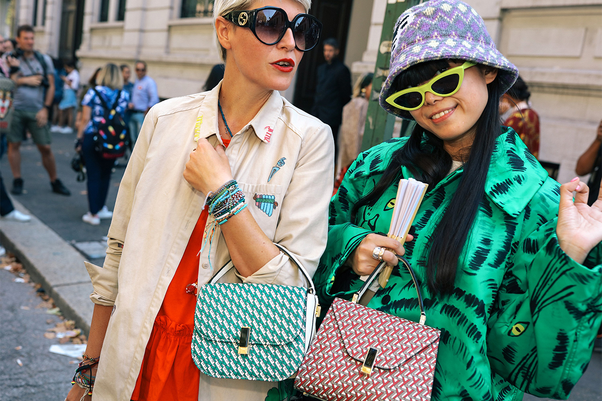Milan Fashion Week Street Style 2018