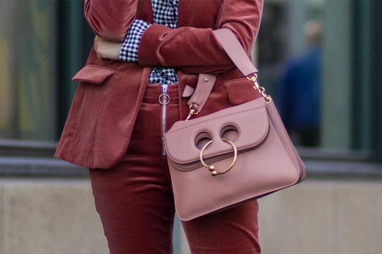 J W Anderson Pierce bag Street Style