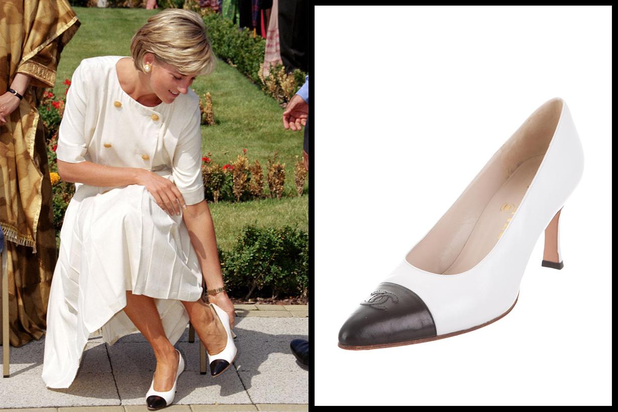 Chanel CC Pumps Princess Diana