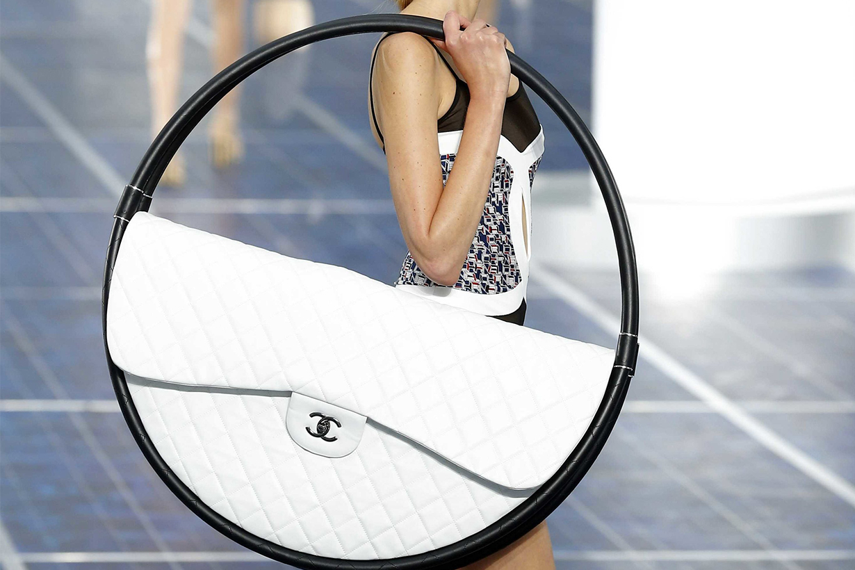 Chanel Giant Hoop