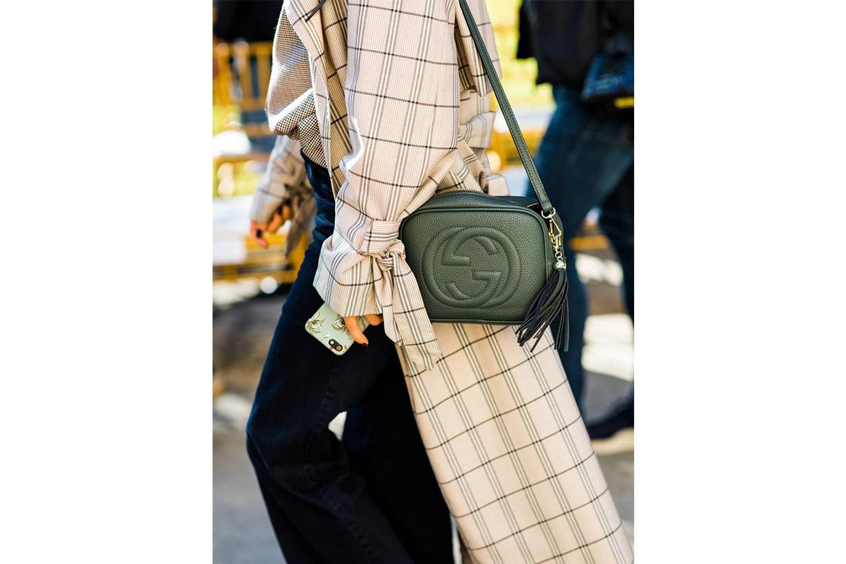 Gucci Soho Disco Handbag Street Style