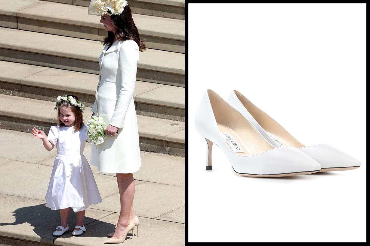 Jimmy Choo Romy 60 Pumps Kate Middleton Meghan's Wedding