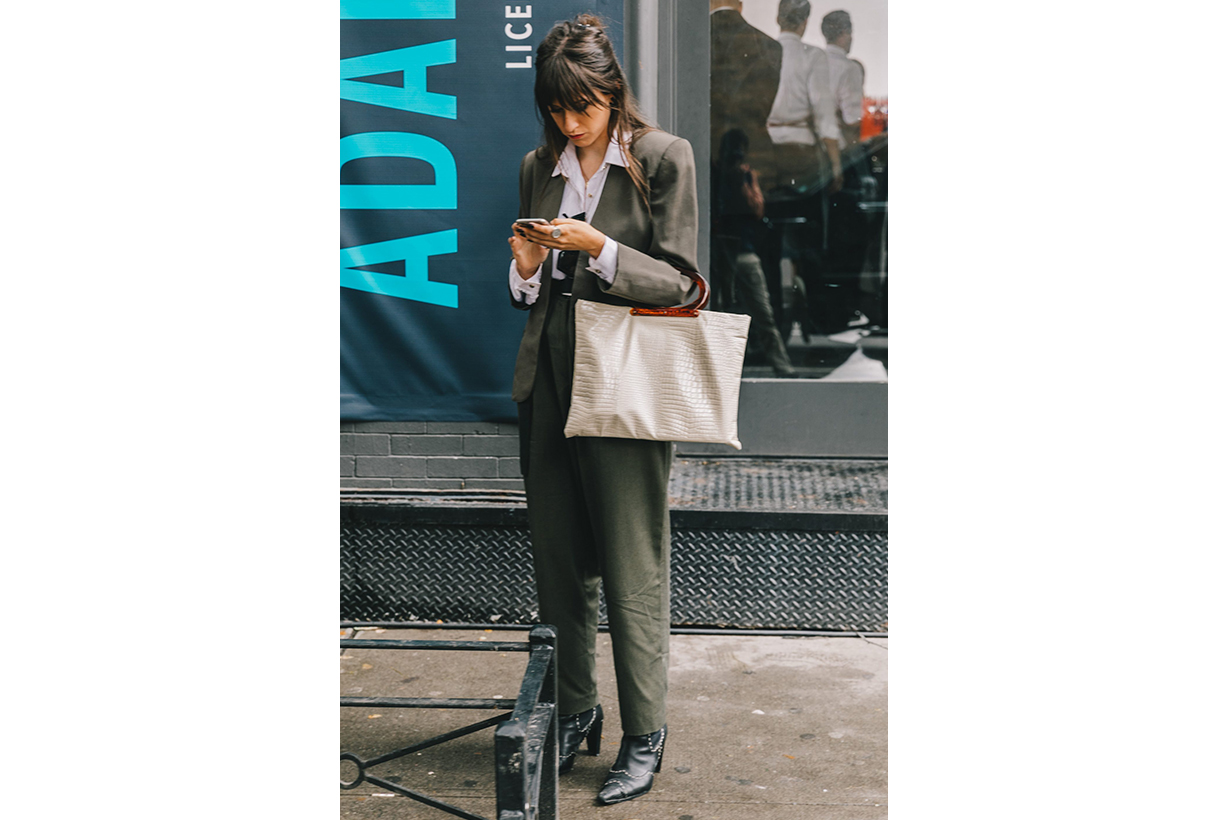 Job Interview Style Suit Street Style
