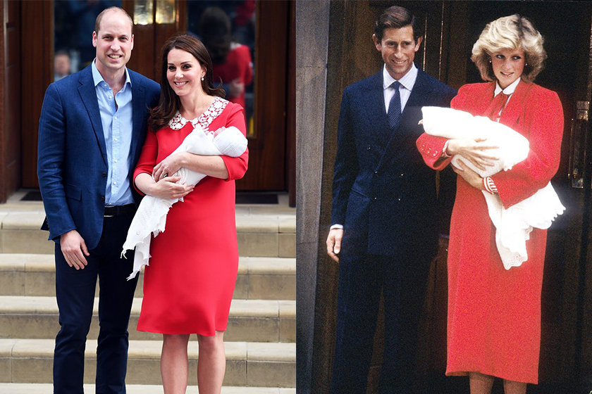 kate middleton princess diana give birth