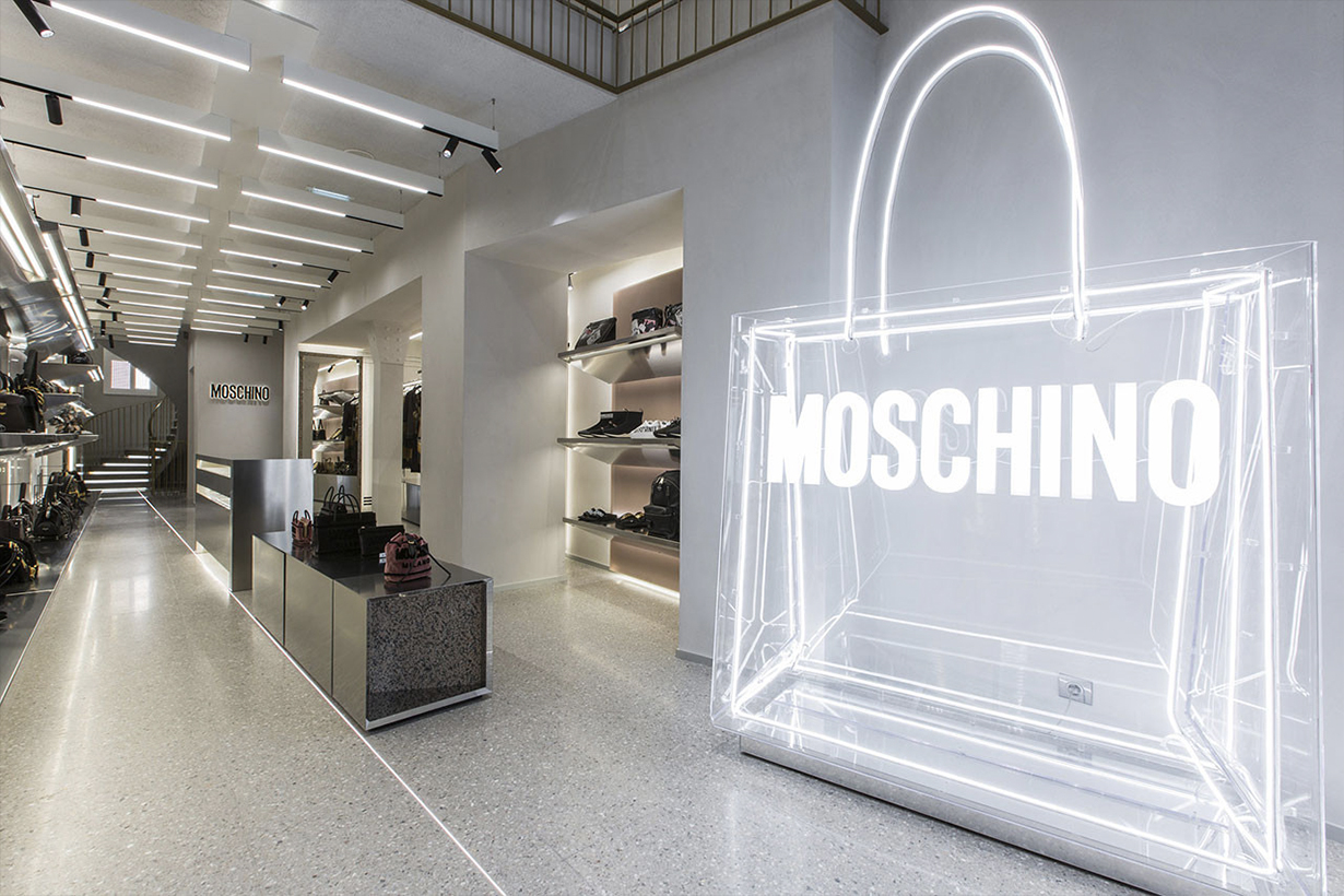 moschino sued for racial profiling