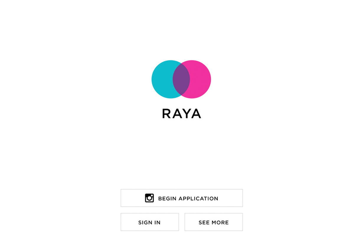 raya app application secrets hollywood members