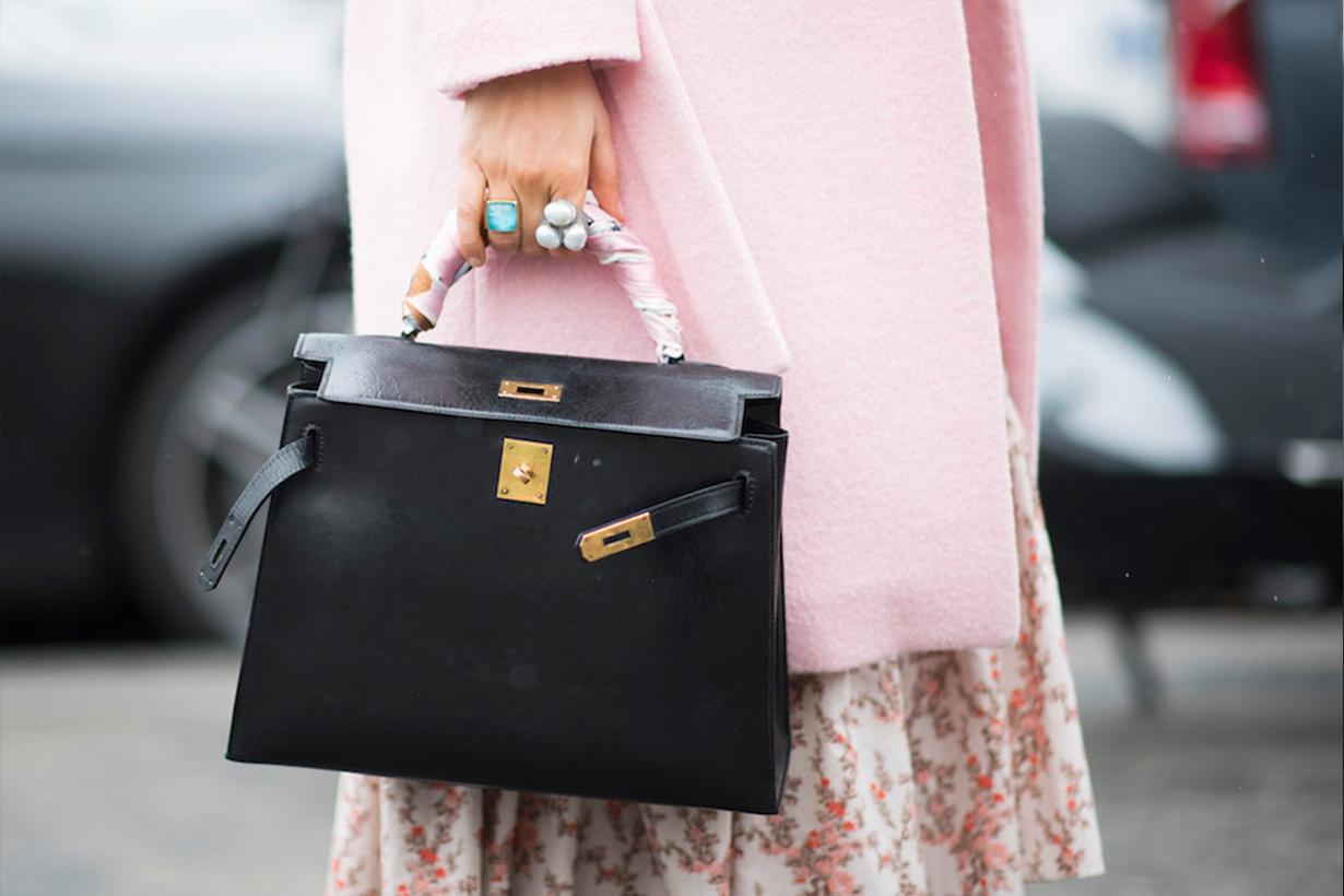 hermes-bags street style