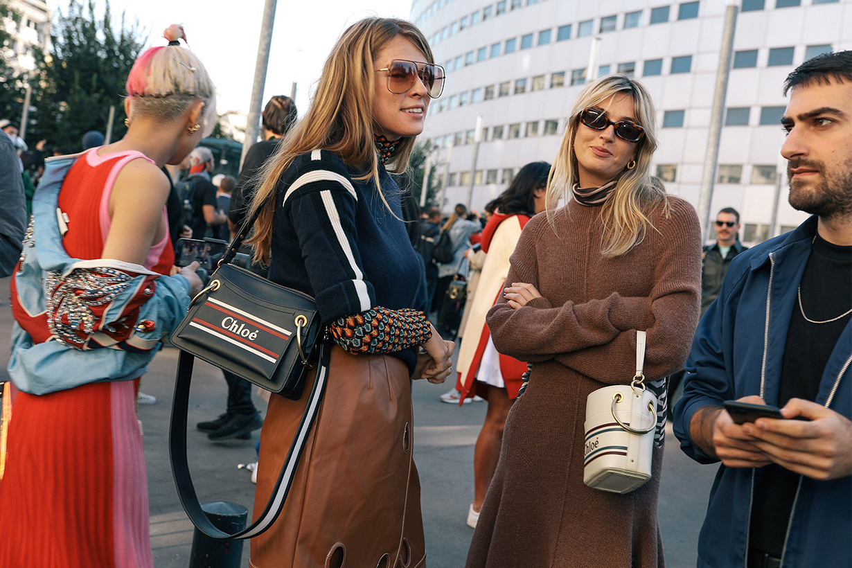 2019 Paris Fashion Week Street Style Chloe Bag