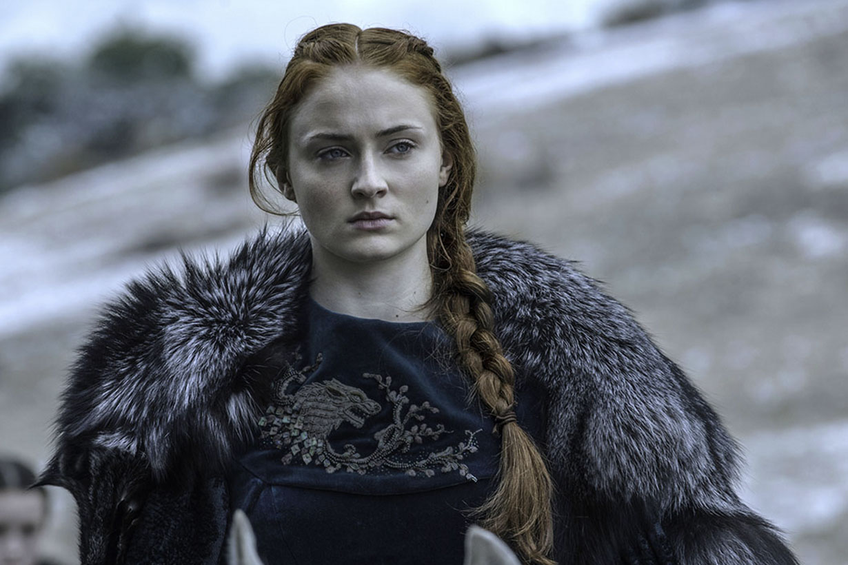 Sophie turner couldn't wash hair game of thrones