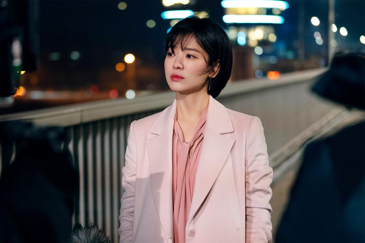 Song Hye Kyo Park Bo Gum Encounter Boyfriend K Drama Korean Drama tvn Korean Idols celebrities actors actresses ending pink suits