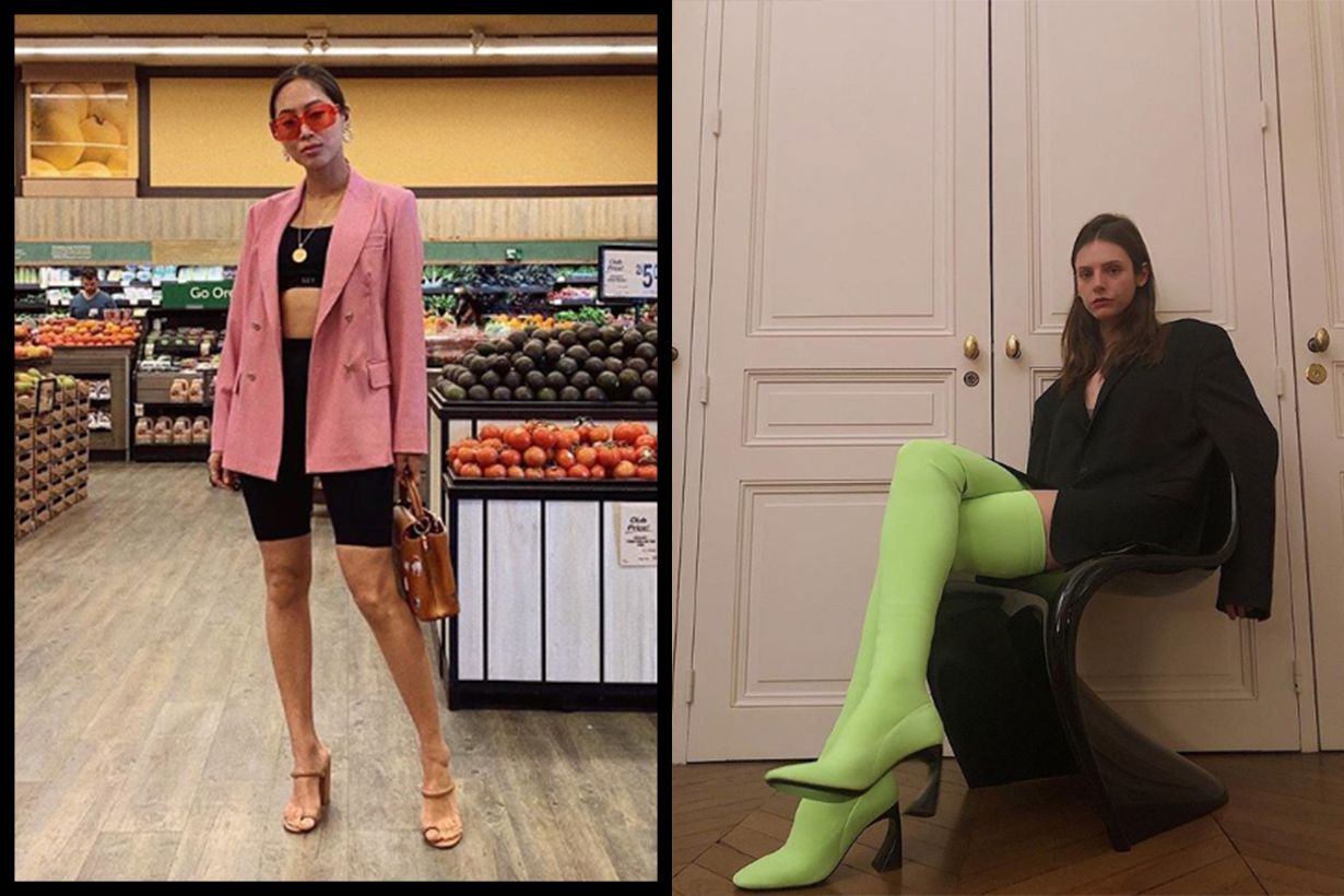 Aimee Song Bike Shorts Ugly Fashion