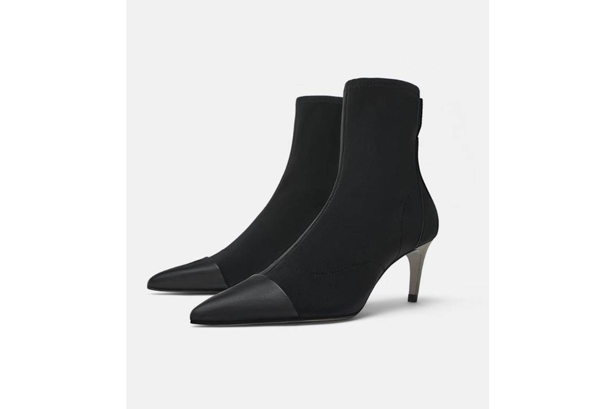 Zara Heel Boots