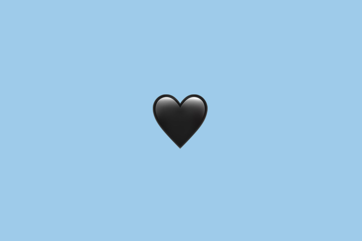 Emoji hearts every colors different means
