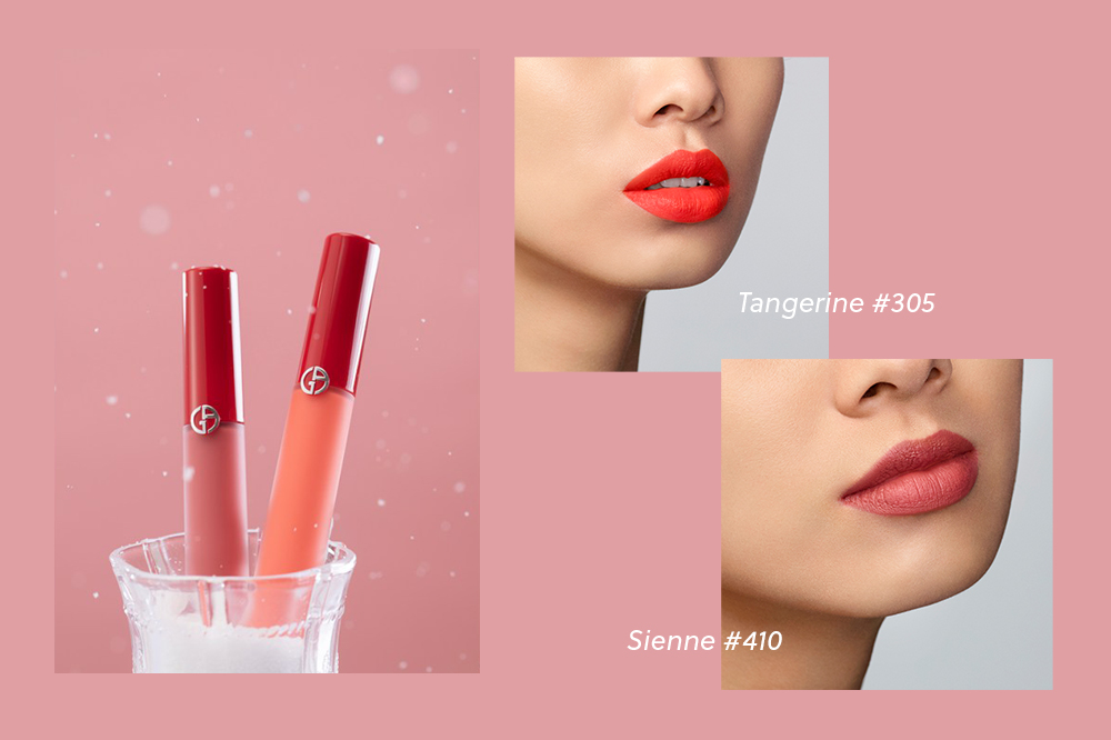 GIORGIO ARMANI Lip Freeze Collection