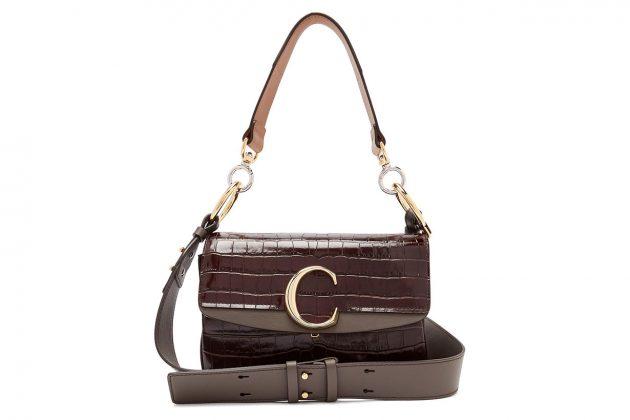 chloe c leather bag