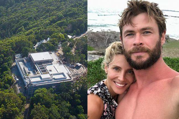 Chris Hemsworth and Elsa Pataky's 8 million Byron Bay mega-mansion
